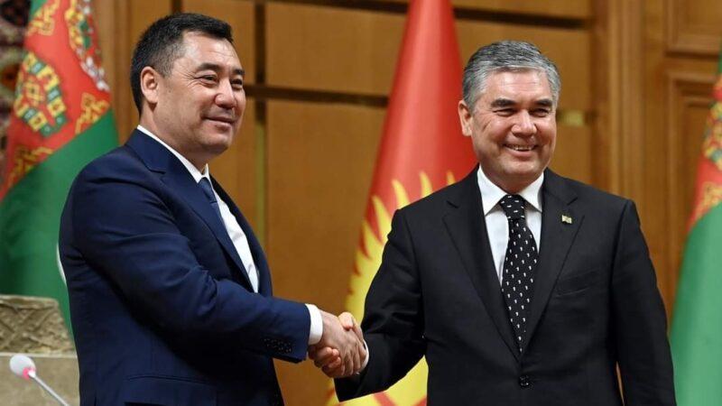 Гурбангулы Бердымухамедов: Кыргызстан Түркмөнстан үчүн келечектүү өнөктөш
