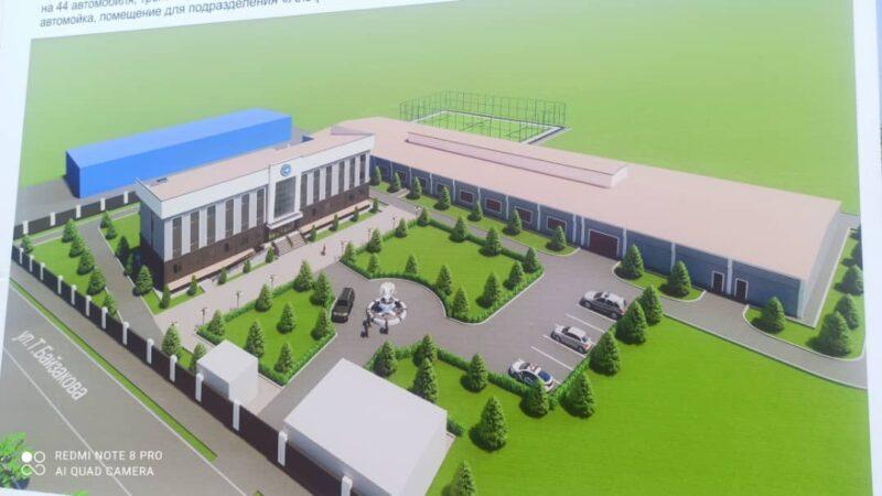 УКМК Жалал-Абадда 3 кабаттуу жаңы, административдик имарат куруп баштады
