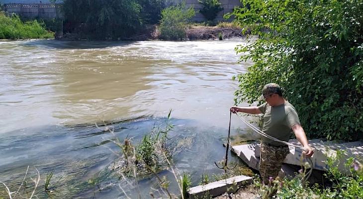 Чоң-Чүй каналына 2 жаран агып кетип, биринин жансыз денеси табылды