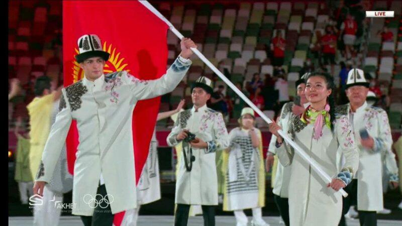 Токио Олимпиадасынын ачылуу аземи. Түз эфирден көз ирмем