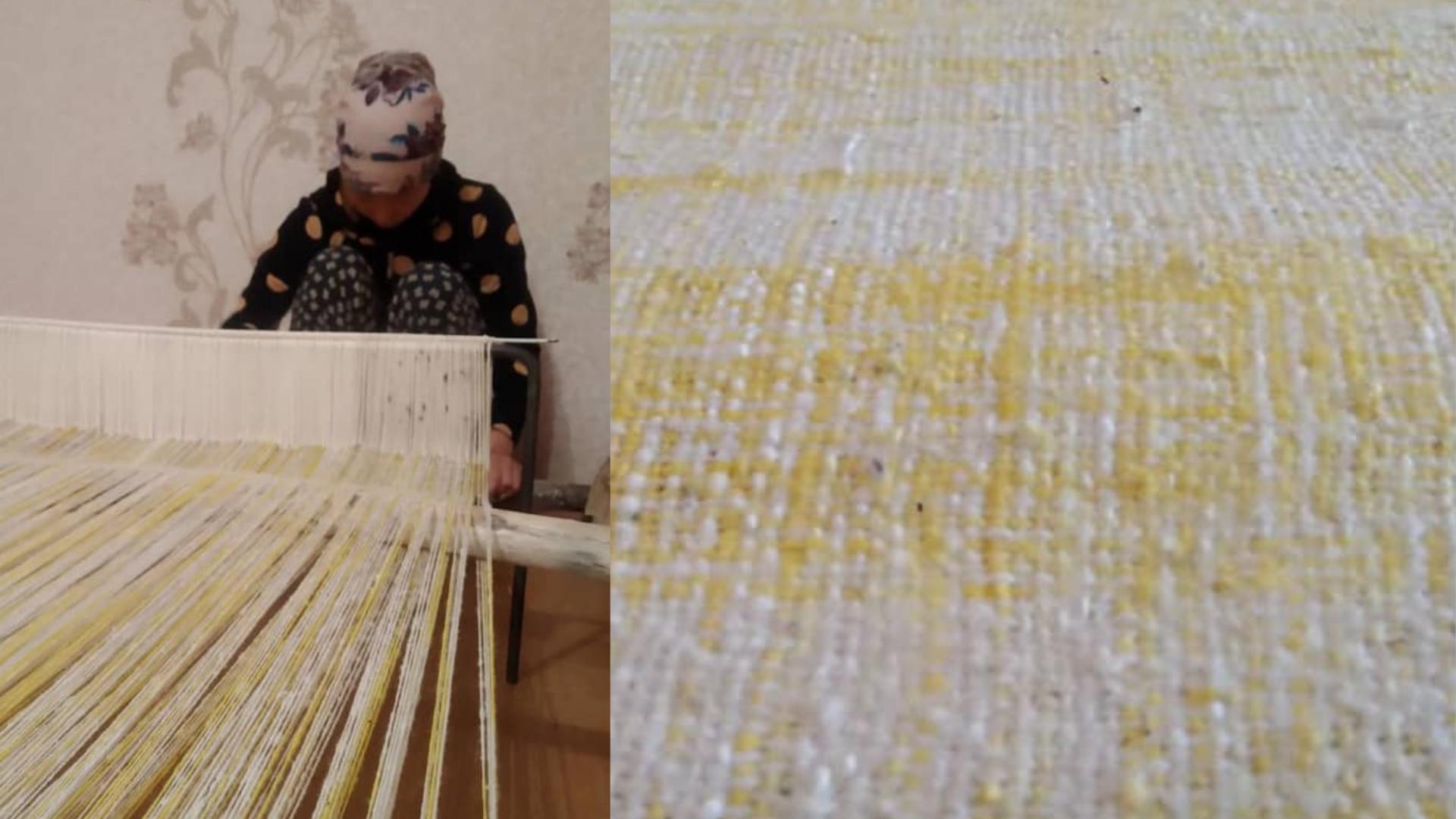 Чоң-Алайлык аялдар колго соккон таардан Германияда саркеч кедалар тигилет