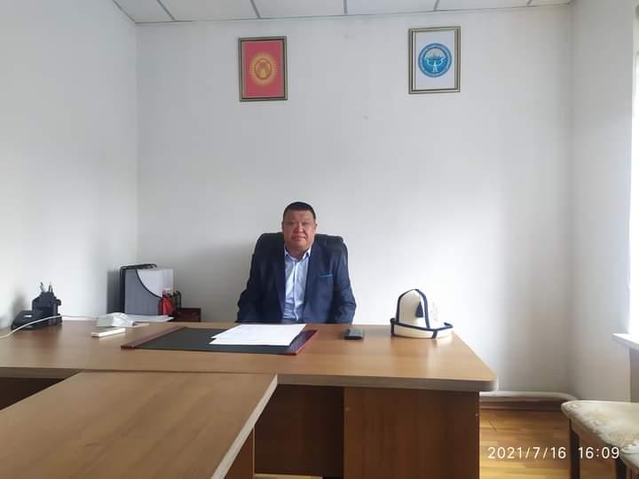 Тагайбек уулу Дамир Тогуз-Торо районунун акиминин биринчи орун басары болуп дайындалды