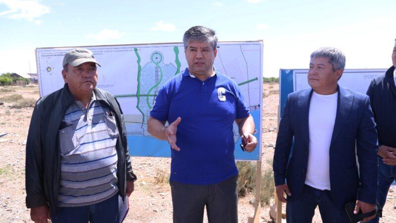 «Асман» долбоору 4 миң гектар жерге пландалып, Көлдө жер сатууга тыюу салынды