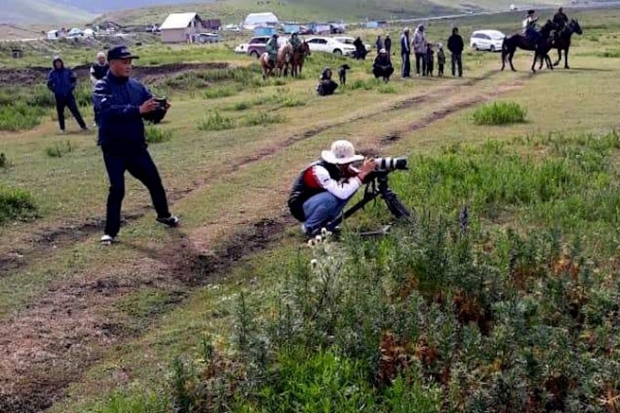 Кыргызстанда көк бөрү жөнүндө даректүү тасма тартыла баштады