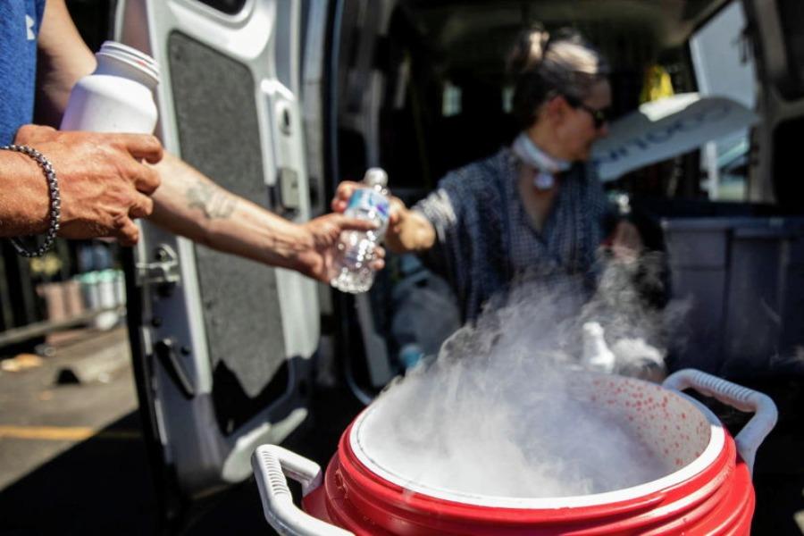 Литтон шаарында күн 49,6 градуска чейин ысып, 500 адам көз жумду