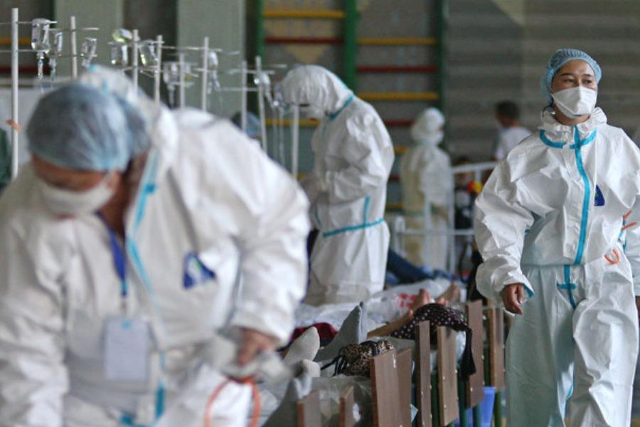 Бир суткада 1 миң 292 адамдан COVID-19 аныкталса, анын 700ү Бишкектиктер