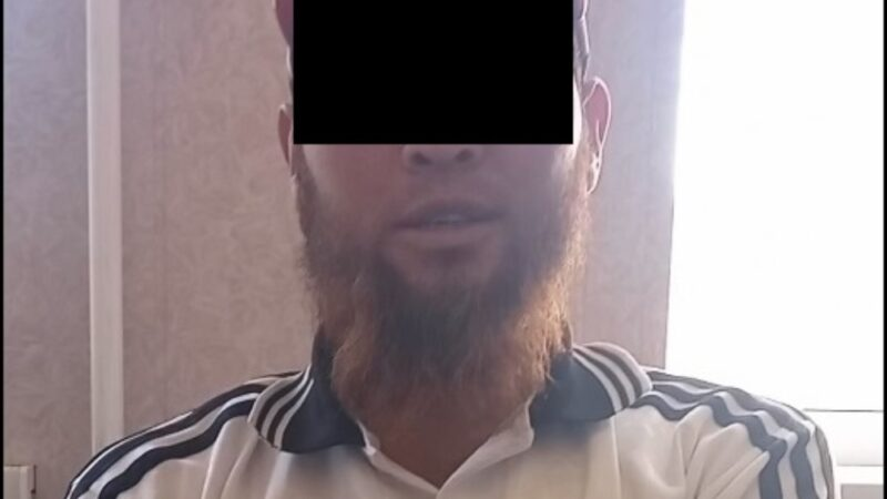 Нарында диний экстремисттик уюмдун мүчөсү адашканын моюндап, уюмдан чыкканын ачыктады