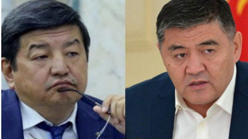 Ташиев: Эч ким Бабановду камалат деп ойлогон эмес, коррупцияга тиешеси болсо Жапаровду да камайбыз