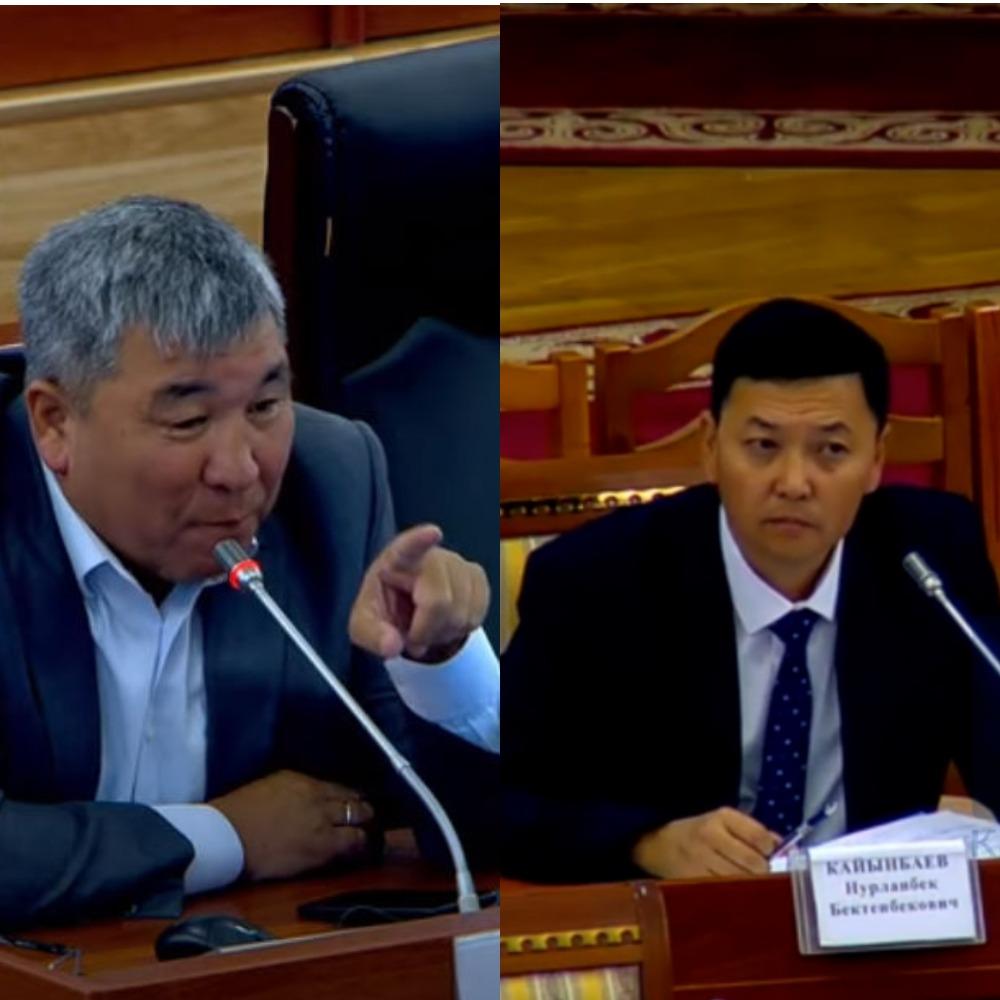 Момбеков: Сиздин айыңыздан Сариев, Малабаев, Карашевдер иштен кеткен, а сиз…