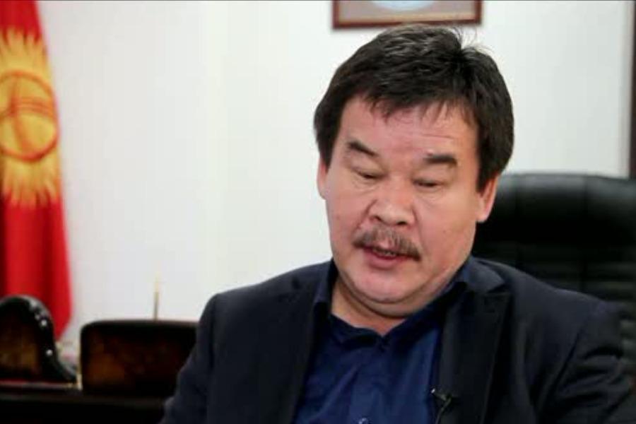Эркин Тентишев президенттин Чүй облусундагы ыйгарым укуктуу өкүлү болуп дайындалды