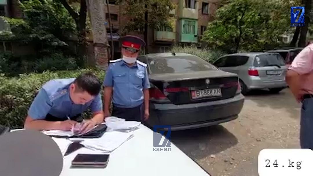 Видео: Бишкекте «Өнүгүү-Прогресс» партиясынын өкүлү пара берүү фактысы менен кармалды