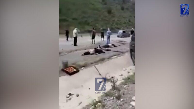 Ош — Гүлчө жолунда «Лексус 570» менен «Тойота Королла» кагышып, 2 адам мерт кетти