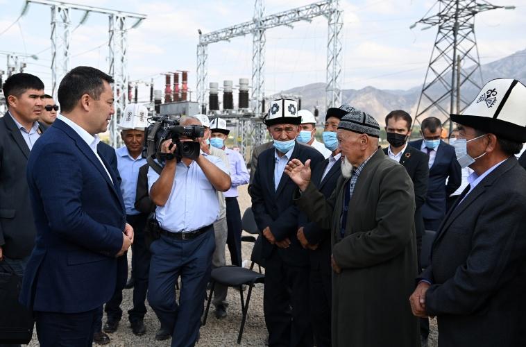 Жапаров: Баткен облусу толук энергетикалык көз карандысыздыкка ээ болот