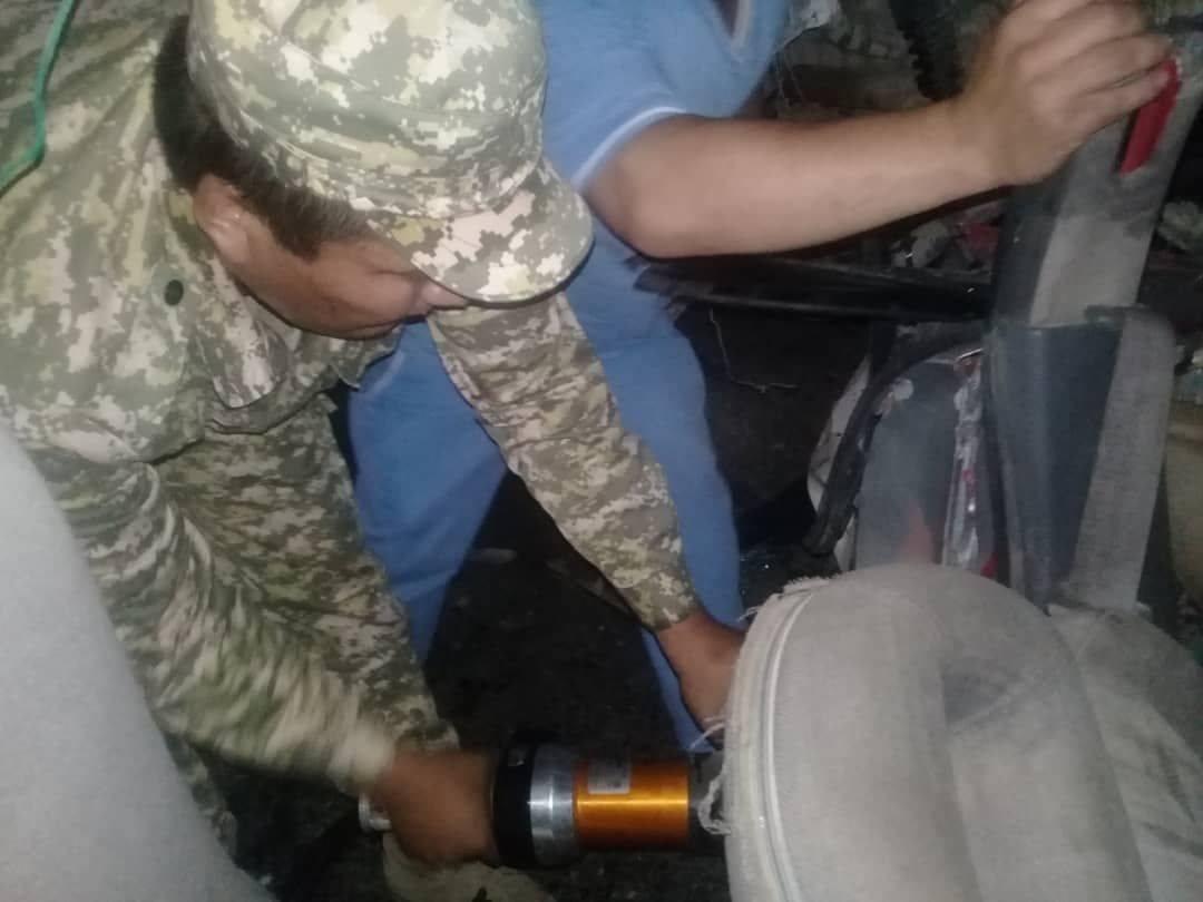 Бишкек-Ош жолунда жүк ташуучу унаа менен жеңил унаа кагышып, 1 адам каза болду