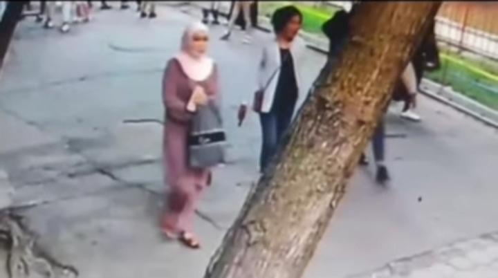 Сак болуңуз! Панфилов паркында уурулук менен алектенген аялдар тобунун видеосу тарады