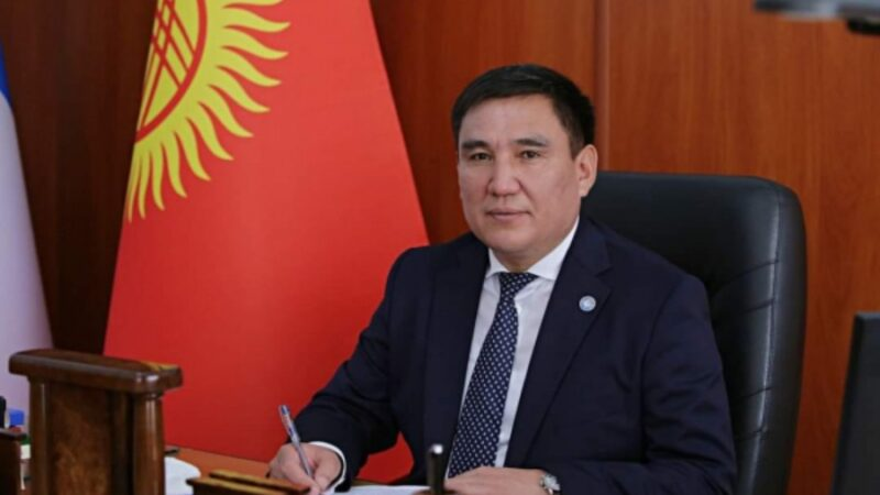 Таалайбек Сарыбашов Бишкек шаарынын мэринин милдетин аткаруучу болуп дайындалды