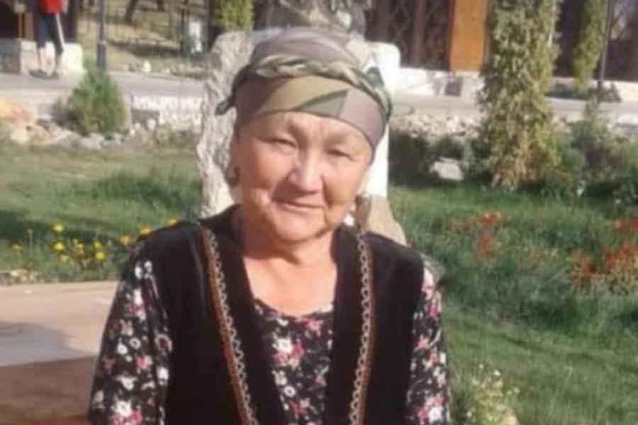 Куршабда 66 жаштагы Пашакан Жакыпова 28-июндан бери дайынсыз. Милиция жардам сурайт
