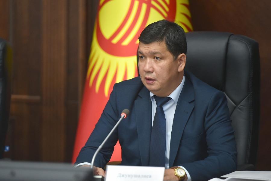 Айбек Жунушалиев Бишкек шаарынын мэринин милдетин аткаруучу болуп дайындалды
