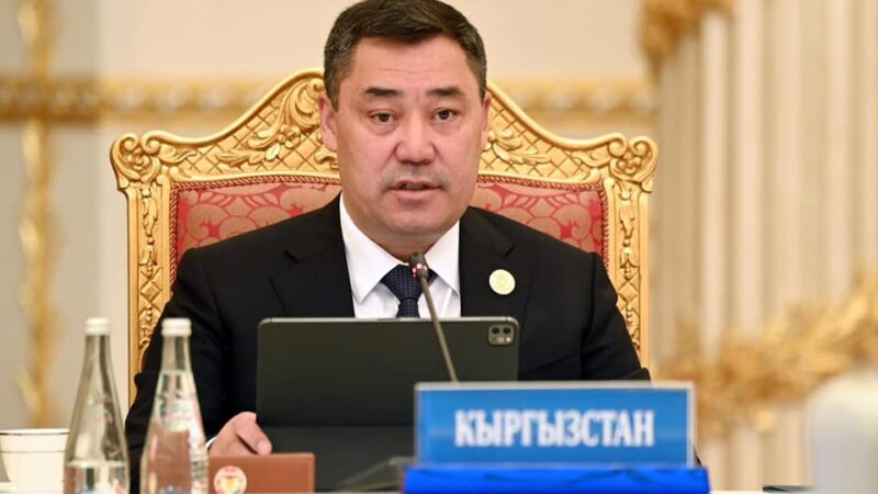 Президент Афганстандагы кырдаал боюнча Кыргызстандын позициясын ачыктады