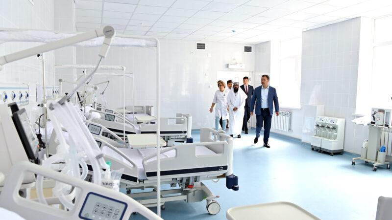 Фото: Бишкекте 5 кабаттан турган заманбап балдар онкологиясы ачылды
