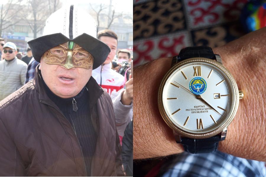 Тата Уландын таарынычы Жапаров саат белек кылган соң жазылды (ФОТО)