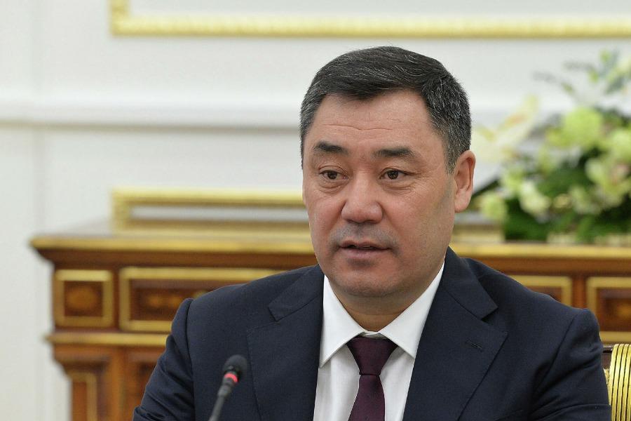Жапаров ЖККУ саммитинде кыргыз-тажик чек арасы боюнча маселе көтөрдү