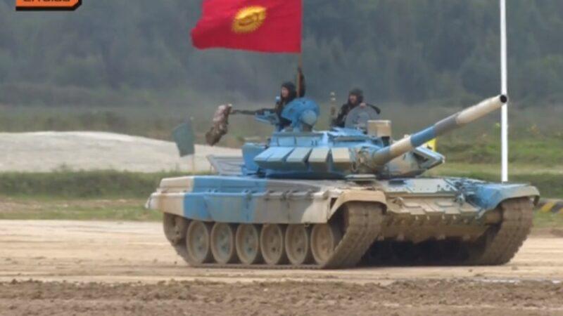 Жеңиш: Россиядагы таймашта кыргыз танкисттери биринчи, тажиктердики экинчи келди