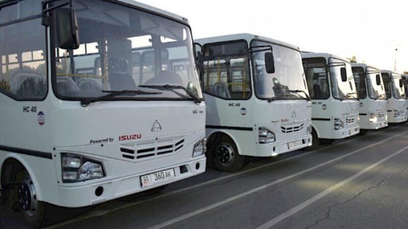 Экологиялык таза, газ менен иштеген 210 жаңы автобус каттамга чыкты