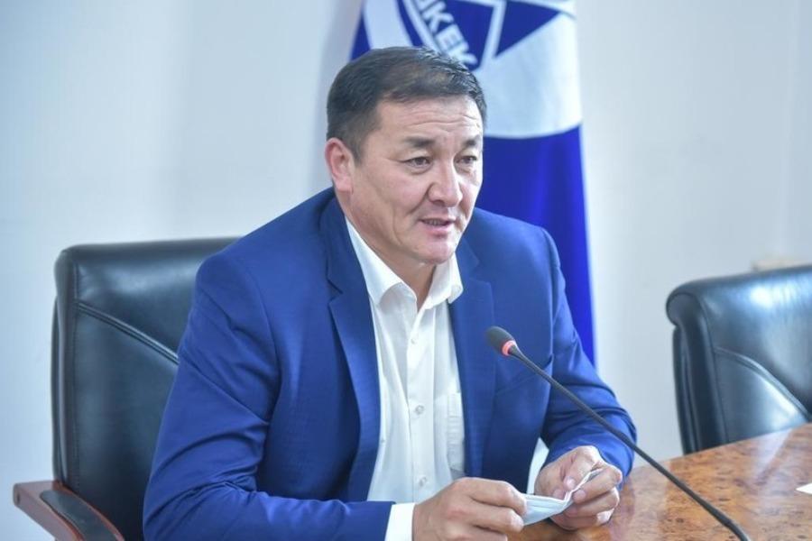 Жамалбек Ырсалиев Биринчи май районуна аким болуп дайындалды
