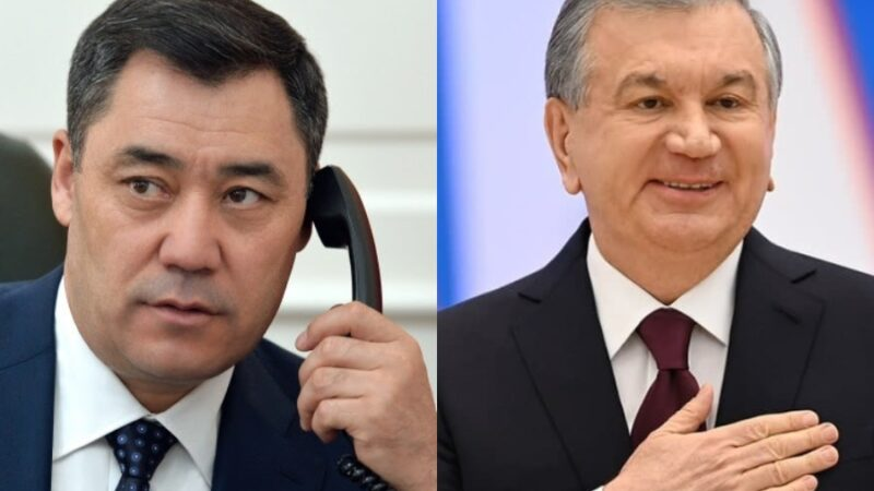 Жапаров Шавкат Мирзиёевди Өзбекстандын Эгемендүүлүк күнү менен куттуктады