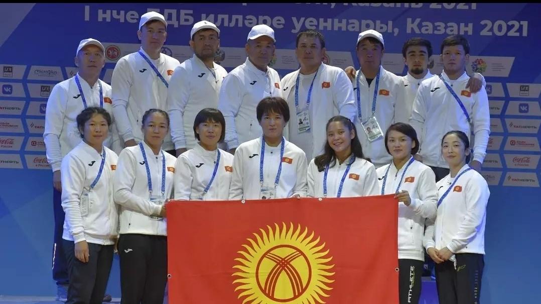 Казанга оюн уланууда. Кыргыз спортчулары 10 медаль жеңди