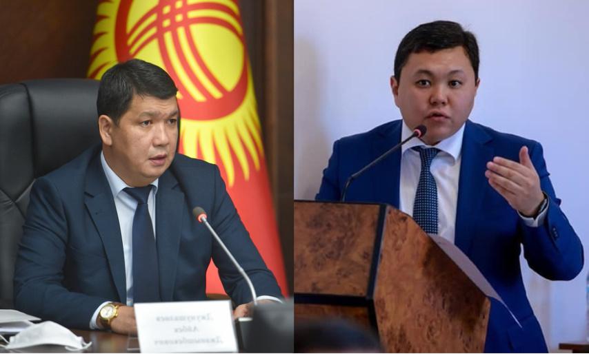 Бишкек шаарынын мэри дагы бир вице-мэрин алмаштырды