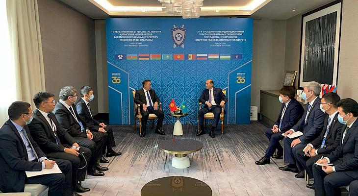 Кыргызстан, Казакстан жана Өзбекстандын башкы прокурорлору жолукту