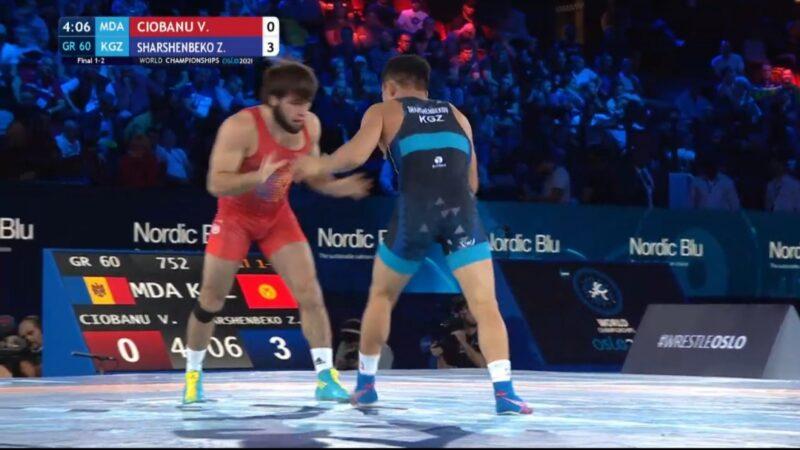 Жоламан Шаршенбеков Дүйнөлүк чемпионаттан күмүш медалга ээ болду