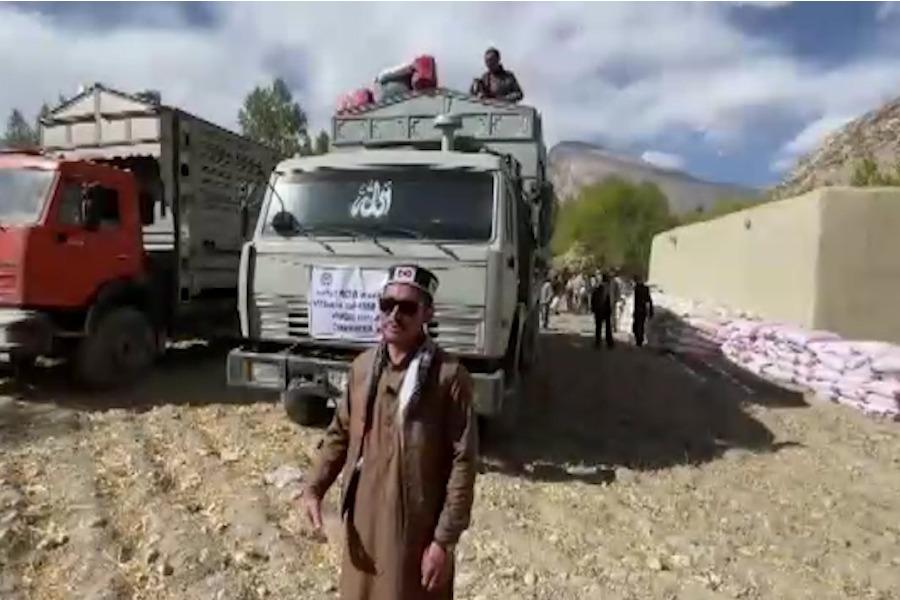 Афганистандагы памирлик кыргыздарга гуманитардык жардам көрсөтүлдү (ВИДЕО)