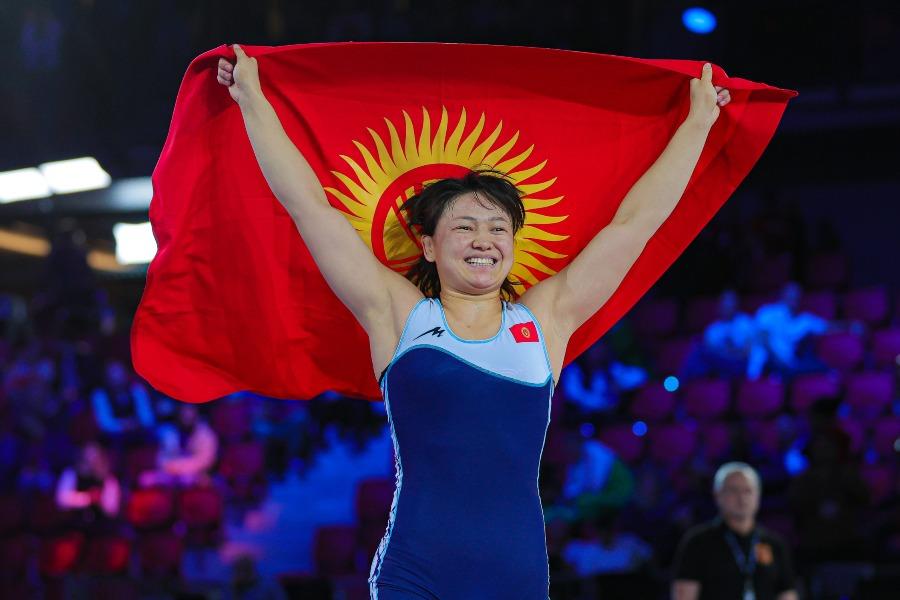 Мээрим Жуманазарова дүйнөлүк рейтингде экинчи орунга чыкты