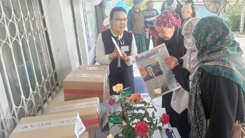 Жалал-Абад: 1,5 миңдей пенсионер кыргыз почтасынын кызматын колдонушат