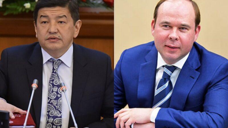 Орусиянын президентинин администрациясынын жетекчиси Акылбек Жапаровду куттуктады