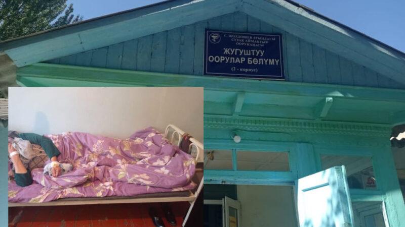Сузак: Тамак аштан ууланууга шектелип 70тей жаран ооруканага кайрылды
