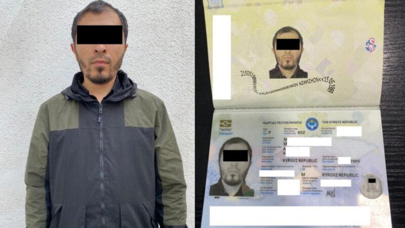 Өзбекстандын жараны жасалма кыргыз паспорту менен кармалды, ага ким берген?