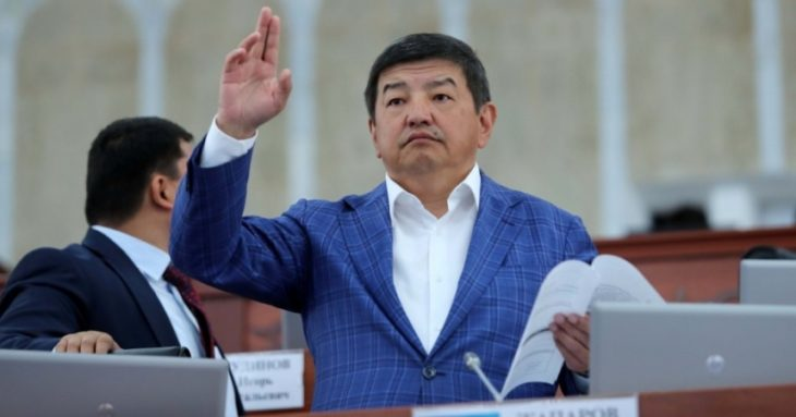 Акылбек Жапаров Министрлер кабинетинин төрагасы болуп дайындалды
